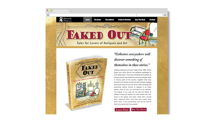 Faked-out, website, browser 2