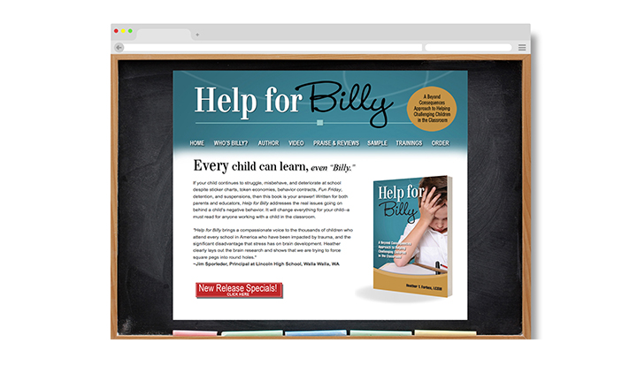 Help For Billy, browser 2