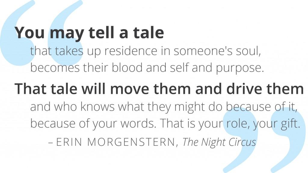 Quote, #1, E. Morgenstern 2